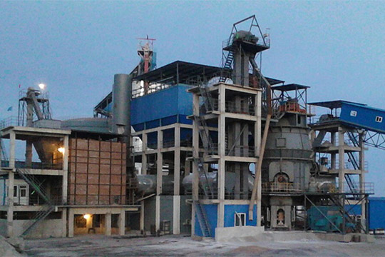 900,000 t/a GGBS Plant of Hongyan Building Materials Co., Ltd.