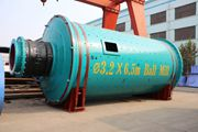 Chaeng φ3.2x6.5m iron ore ball mill sent to the Middle East