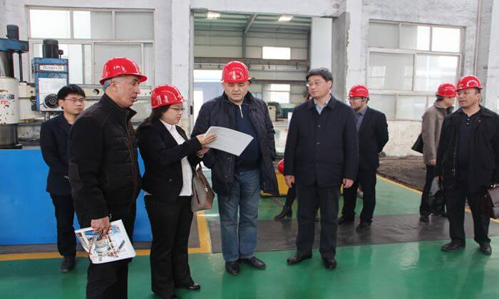 Uzbekistan 1000t/d cement production line project