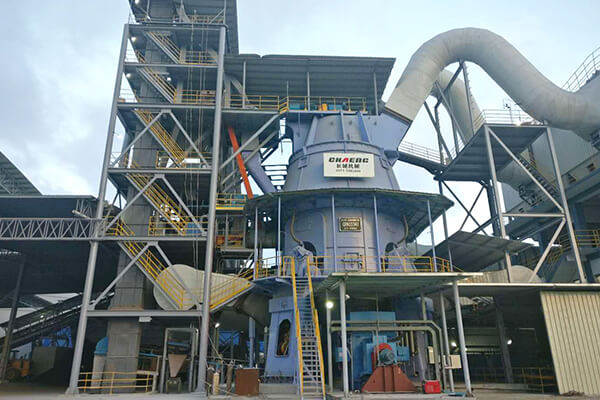slag grinding plant