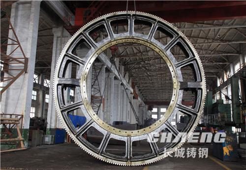 ball mill girth gear