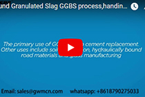 Slag Grinding Plant(slag ball mill,slag vertical mill)process