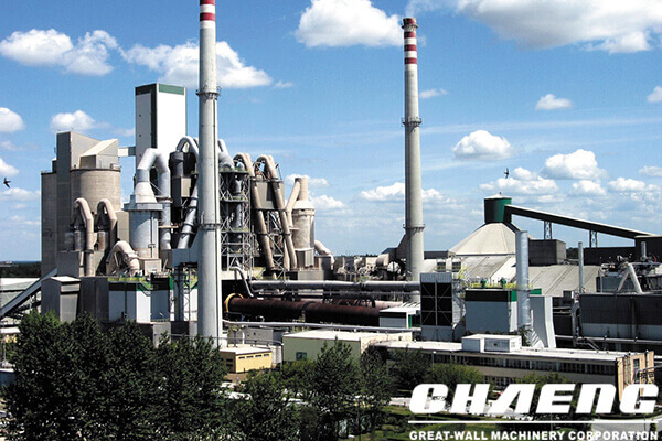 green cement plant
