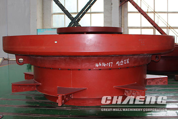 grinding table of vertical mill