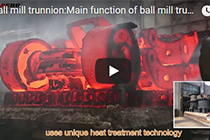 1-100t Ball mill trunnion,steel casted ball mill trunnion