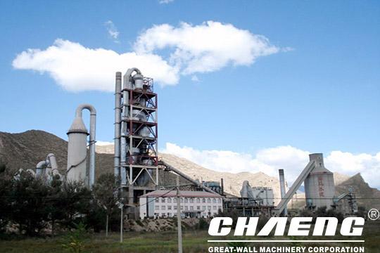 2500t cement plant