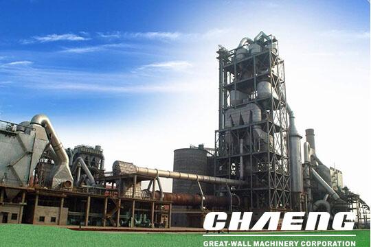 1000t cement plant