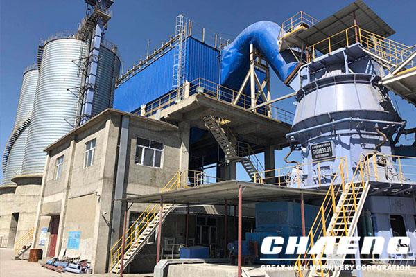 Steel slag powder production line