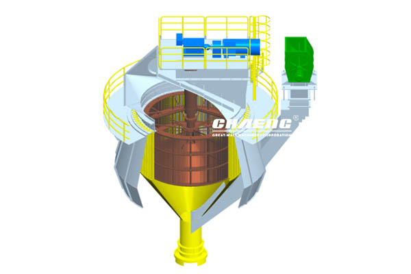 vertical mill  classifier