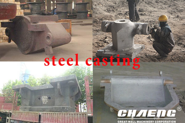 casted steel