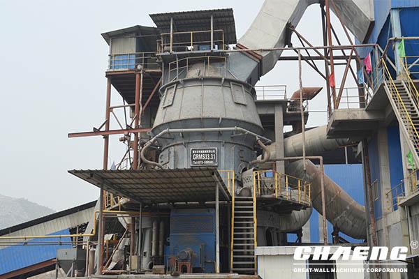 ore stone vertical mill