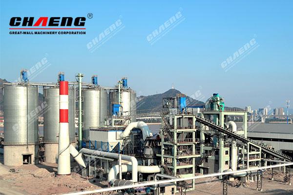 CHAENG steel slag grinding plant case
