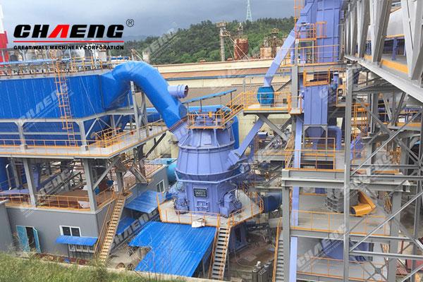 The 300,000t/y EPC GGBS Plant of Korea POSCO