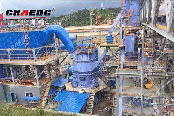 Korea POSCO 300,000t/y blast-furnace slag production line