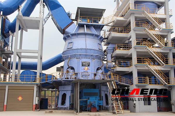 calcium carbonate vertical mill