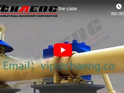 rotary kiln production line and the case