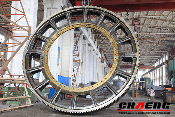 large girth gear, girth gear, kiln girth gear