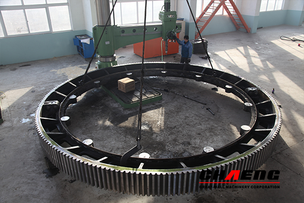 girth gear, rotary kiln, CHAENG