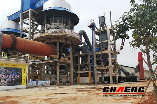 lime production line, lime kiln, CHAENG
