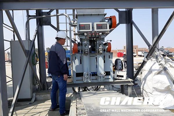 cement packing machine, cement rotary packer,CHAENG