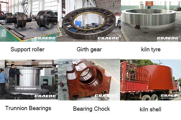 parts of rotary kiln