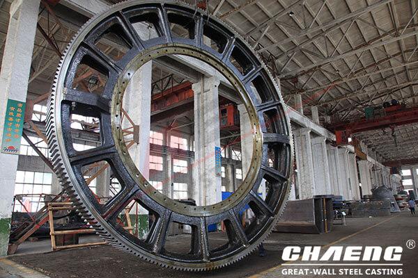 ball mill girth gear manufacturer