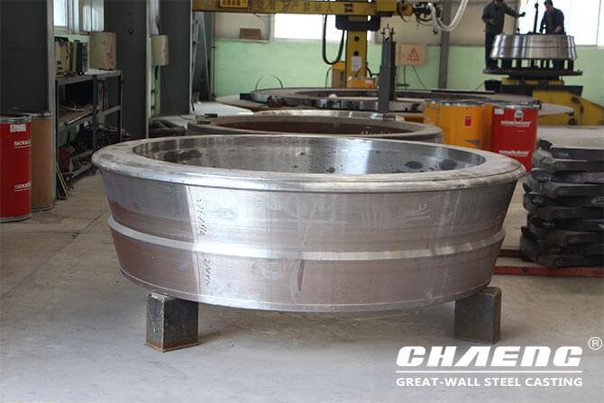 vertical roller mill, grinding roller tyre