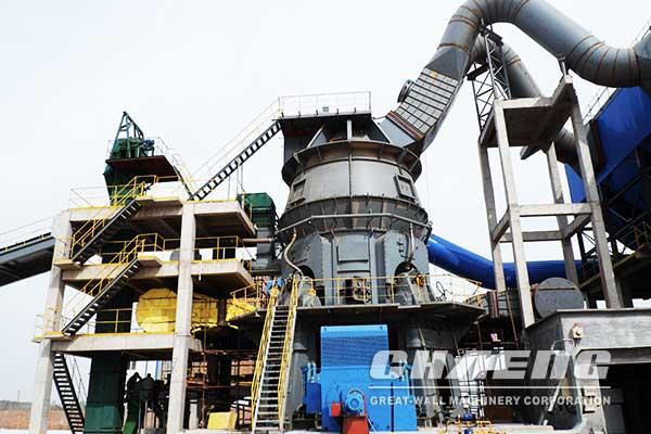 vertical roller mill grinding slag